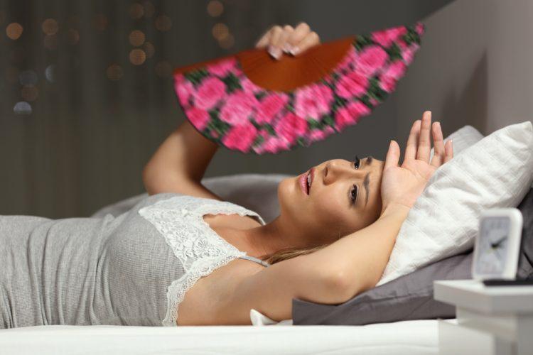 تفسير التعرق أثناء النوم