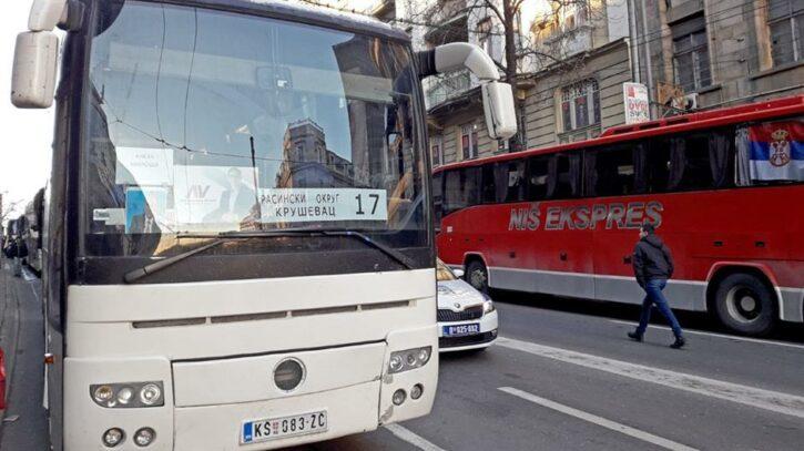 شركات النقل في صربيا